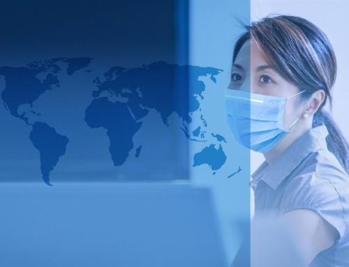 Harta lumii în timpul pandemiei de Covid-19